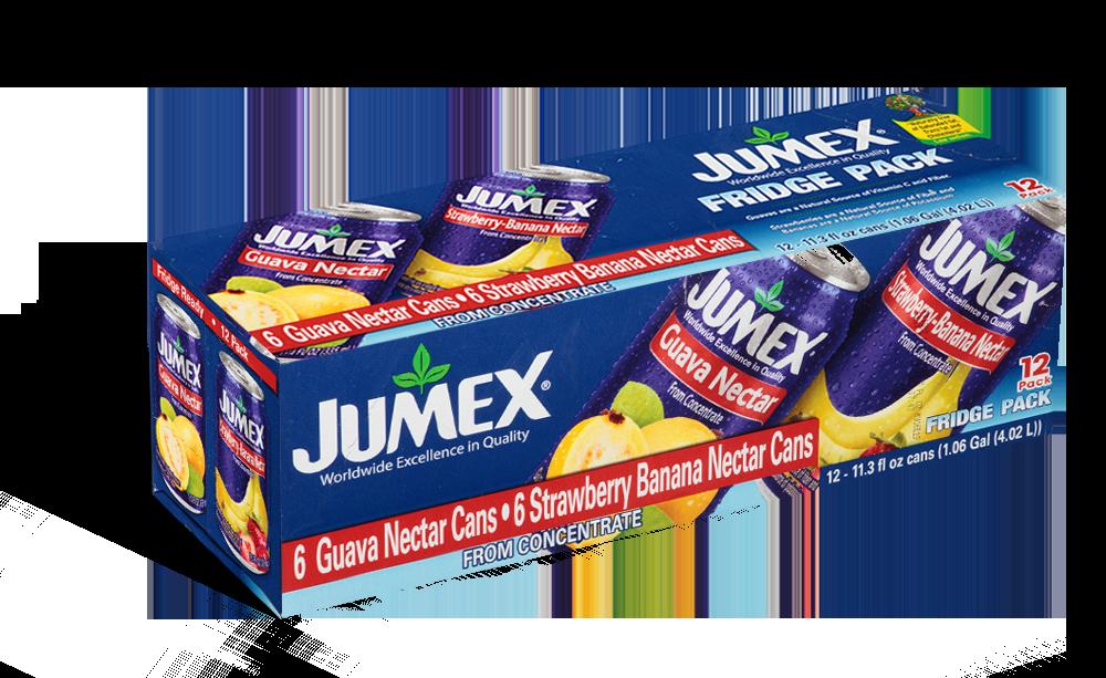 Jumex Fruit Nectar (12-Can Fridge Pack):